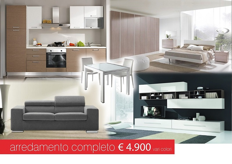 Offerte arredamento completo a soli euro for Arredamento completo casa offerte