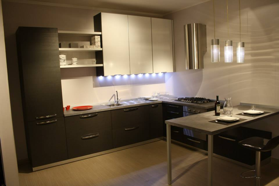 Le cucine del tongo ottimizzano gli spazi tolomello - Cucine del tongo ...