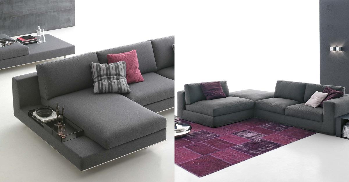 Design di pregio ed inconfondibile per divani versatili!