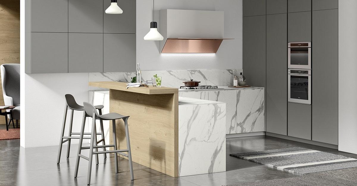 Una cucina su misura progettazione al top tolomello interior design - Top cucina su misura ...