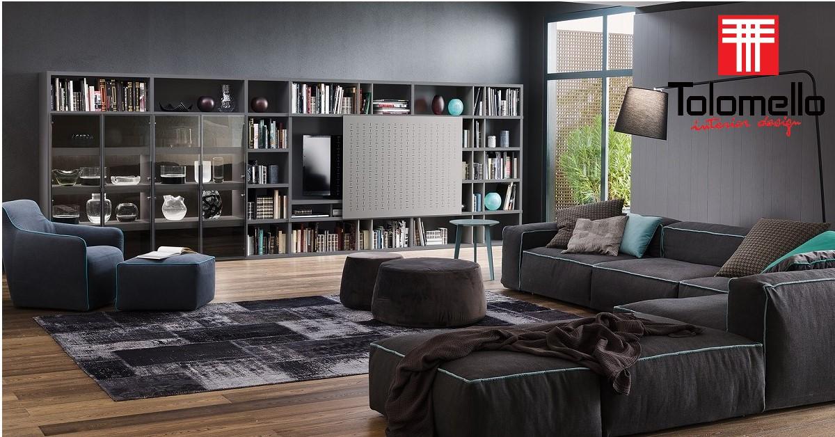Come arredare un salotto moderno e di design tolomello for Salotto design moderno